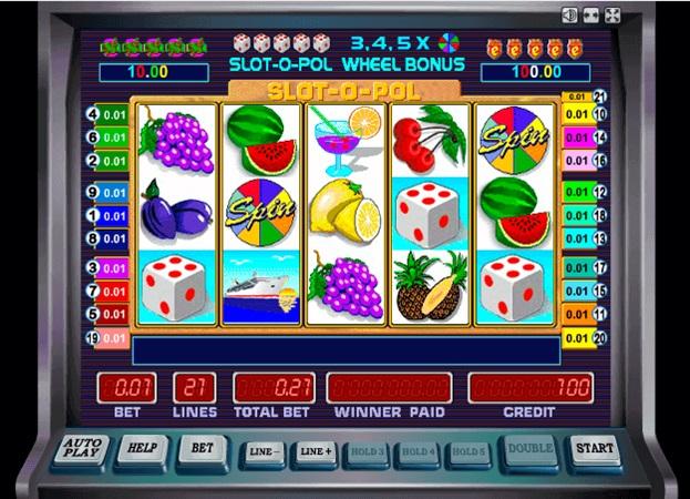 Гральний автомат Slot-o-pol Deluxe